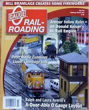 *N.O.S. 'O' Gauge RailRoading Run 255 February/March 2012