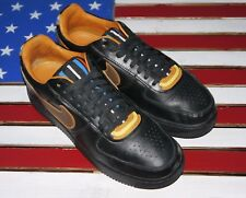 Nike Air Force 1 Low SP RICCARDO TISCI Givenchy Black Leather [677802-020] sz 11