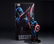 MARVEL - Figura Acción Capitán América, Steve Rogers Action figure 22 cm.