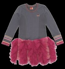 NWT No Added Sugar Sister Sue Big Smoke Pink Cascading Tulle Dress 7 8 9 10