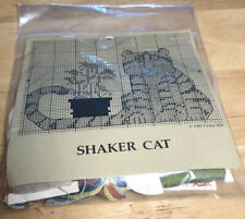 """Shaker Cat "" Cross Stitch Kit"