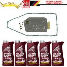 para BMW 7 E32 E38 Automático Caja De Transmisión Panel Filtro JUNTA 5l