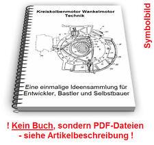 Kreiskolbenmotor Wankelmotor selbst bauen - Kreiskolben Motoren Technik Patente