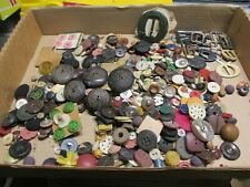 New listing 2 Pounds Lot of Buttons Vintage different colors!
