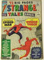 Strange Tales Annual #2 GD 1963 Marvel Comics Spider-Man Jack Kirby Steve Ditko