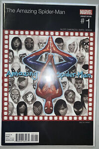 THE AMAZING SPIDER-MAN #1 (MARVEL 2015) MIKE DEL MUNDO HIP HOP VARIANT