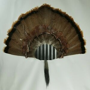 Turkey Fan and Beard Mounting Kit (Distressed Black)