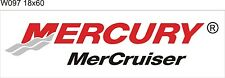 W097 Mercury MerCruiser Boats banner garage decor Nautical fishing signs