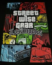 Street wise t shirt Los Angeles large for men original urban clothing