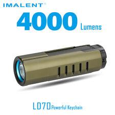 Imalent LD70 CREE XHP 70 LED 4000lms Mini EDC Keychain Flashlight Torch - Green