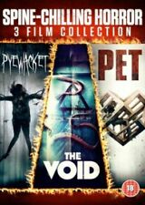 Spine Chilling Horror: 3 Film Collection Pyewacket, Pet, The Void - Gift Idea