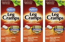 3 Pack Hylands Leg Cramps Quinine, Lower Back & Legs, Homeopathic - 300 Tablets