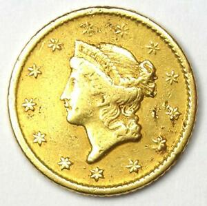 1849-O Liberty Gold Dollar G$1 - XF Details (EF) - Rare New Orleans Coin!