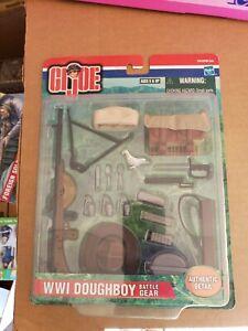 Hasbro Gi Joe 57611 ww1 Doughboy battle gear