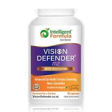 VISION DEFENDER MZ - Meso-Zeaxanthin Macular Health Eye Care Vegan 90 Capsules