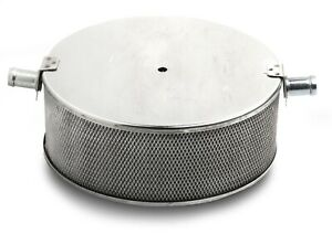 Holley 720-1 Stainless Steel Marine Flame Arrestor - 600-800 CFM Recommended