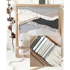 Weaving Loom Kit Wooden Weaving Frame Loom Set | Tapestry Loom Kit