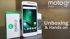 NEW ✔ Motorola MOTO G4 PLAY - XT1604 | WHITE | ✔ UNLOCKED ✔ | 16gb | SmArTpHoNe