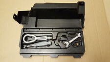 BMW 3 SERIES E91 Support Warning triangle trunk trim cover tool box towing eye