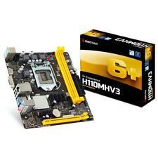 BIOSTAR H110MHV3 Socket 1151 Ddr3 VGA HDMI ATX Motherboard