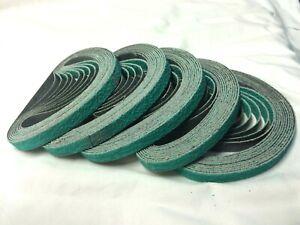 10mm Air linishing Sanding Belts 3M 330mm x 10mm x 50pc.Zirconia  p80 or p120