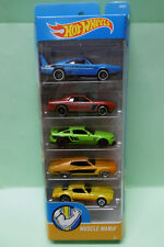 MUSTANG TORINO DODGE CHARGER CHALLENGER PONTIAC MUSCLE MANIA PACK HOTWHEELS 1/64