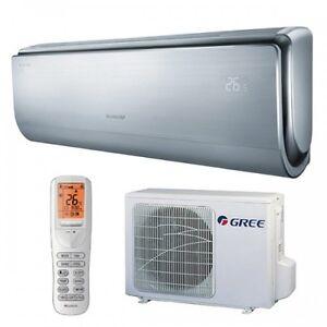 GREE U-Crown Split 2,5kW Klimaanlage Wandgerät Inverter Klimageräte Heizen -30°