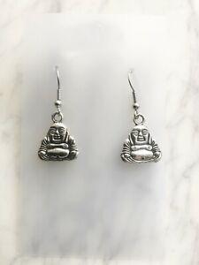 Happy Laughing Buddha Earrings
