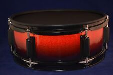 """Laurin Snare (12"""" mesh pad) for Roland/Alesis electronic drum - Half red"""