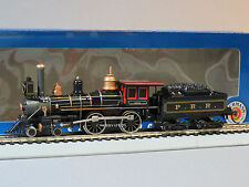 BACHMANN HO STEAM LOCOMOTIVE AMERICAN 4-4-0 & TENDER PRR train general 51114 NEW