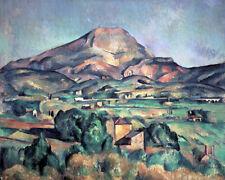 Mont Sainte-Victoire by Paul Cézanne 60cm x 48cm Art Paper Print