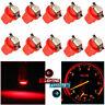 10Pcs Car LED B8.5D T5 SMD Car Gauge Instrument Dashboard Dash Light Bulb 12V