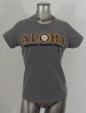 Hawaiian Island Creations Aloha women's t-shirt gray XL