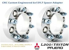 4WD Wheel Spacer Adapters 35 mm 6x139.7, Pajero 67.1 / 107.4 mm Hub Centric 2PCS