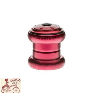 "ORIGIN8 SSR RED 1-1/8"" THREADLESS BICYCLE HEADSET"