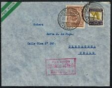 2330 Colombia To Chile Air Mail Cover 1936 Bogota - Cartagena
