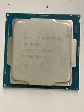 Intel Core i5 8400 2.8GHz 6-Core Processor Socket 1151 65W GPU CPU PUBG Game