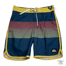 New listing QUIKSILVER NWT Youth Striped Board Swim Surf Shorts Size 26