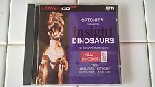 Insight Dinosaurs For Commodore Amiga CD32 and CDTV, BRAND NEW