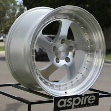 One 19x9.5 ESR SR2 CCW Style SR02 5x114.3 22 Machined Silver Wheel Rim