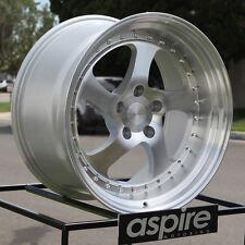 One 19x9.5 ESR SR2 CCW Style SR02 5x114.3 22 Machined Silver Wheel Rim