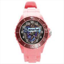 Nuevo * Hot Harry Potter Ravenclaw Hogwarts Escuela Rosa Redondo Deporte Reloj De Regalo