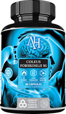 Apollo's Coleus Forskohlii-95 90 Caps Helps to reduce fatty tissue fat burner