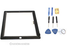 Replacement Black Touch Screen Digitizer LCD Front Glass Display For iPad 3+Tool