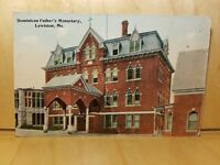 A2) Postcard Dominican Father's Monastary LEWISTON ME
