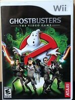 Ghostbusters: The Video Game (Nintendo Wii, 2009) Complete w/ Manual Free Ship