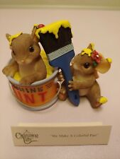 Fitz & Floyd Charming Tails We Make A Colorful Pair Figurine Collectable Love