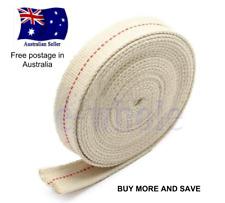 New Flat Wick Cotton For Kerosene oil Lamps & lighting 1 inch (25 mm) x 1 Metre