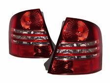 Protege BJ MK8 1998-2004 Sedan 4D Clear Tail Rear Light Red/Clear V3 for MAZDA