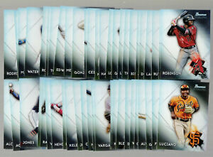 2021 21 BOWMAN STERLING ROOKIE & PROSPECT COMPLETE SET (100 CARDS) MARTIN